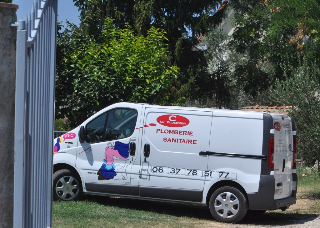 plombier,camionette,humour