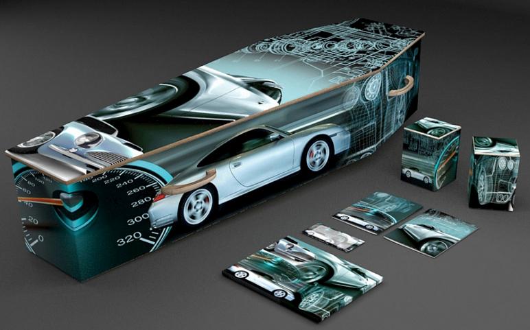 Cercueil Porsche
